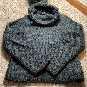 Vintage Express Chunky Knit Turtleneck Sweater - M